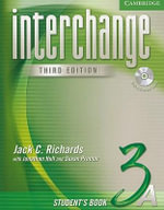 Interchange Student's Book 3A with Audio CD : Level 3A - Jack C. Richards