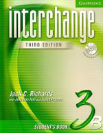 Interchange Student's Book 3B with Audio CD : Student's Book 3B - Jack C. Richards