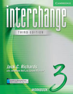 Interchange Workbook 3 : Level 3 - Jack C. Richards