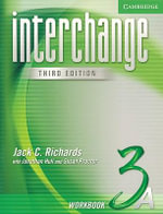 Interchange Workbook 3A : Level 3A - Jack C. Richards