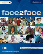 face2face Pre-intermediate Student's Book with CD ROM/Audio CD : Face2face - Chris Redston
