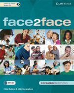 face2face Intermediate Student's Book with CD-ROM/Audio CD : Face2face - Chris Redston