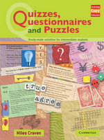 Quizzes, Questionnaires and Puzzles : Ready-Made Activities for Intermediate Students - Miles Craven