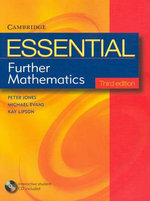Essential Further Mathematics Third Edition with Student CD-Rom : Essential Mathematics - Peter Jones