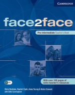 face2face Pre-intermediate Teacher's Book - Rachel Clark
