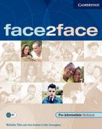 face2face Pre-intermediate Workbook with Key : Face2face - Nicholas Tims
