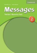 Messages 2 Teacher's Resource Pack : Messages Ser. - Sarah Ackroyd