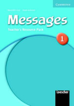 Messages 1 Teacher's Resource Pack Italian Version - Meredith Levy