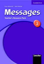 Messages 3 Teacher's Resource Pack Italian Version : Level 3 - Meredith Levy