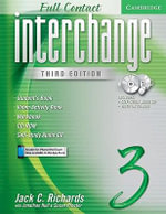 Interchange Full Contact 3 Student's Book with Audio CD/DVD : No. 3 - Jack C. Richards