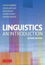 Linguistics : An Introduction - Andrew Radford