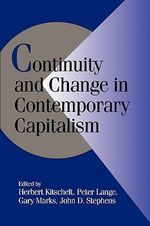 Continuity and Change in Contemporary Capitalism : Cambridge Studies in Comparative Politics (Hardcover)