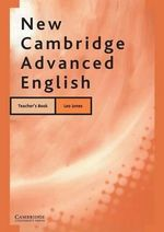 New Cambridge Advanced English Teacher's Book - Leo Jones