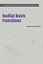 Radial Basis Functions : Theory and Implementations - Martin D. Buhmann