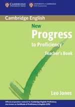 New Progress to Proficiency Teacher's book - Leo Jones