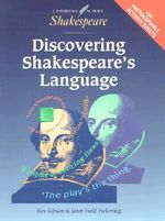 Discovering Shakespeare's Language American Edition - Gibson Rex