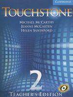 Touchstone Teacher's Edition 2 with Audio CD : Touchstones - Michael J. McCarthy