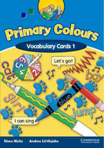 Primary Colours 1 Vocabulary Cards : Primary Colours - Diana Hicks