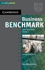 Business Benchmark Upper Intermediate Personal Study Book BEC and BULATS Edition :  Upper-Intermediate Vantage - Guy Brook-Hart