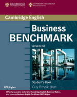 Business Benchmark Advanced Student's Book BEC Edition : Student's Book - Guy Brook-Hart