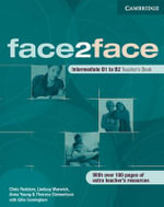 face2face Intermediate Teacher's Book : Face2face - Chris Redston