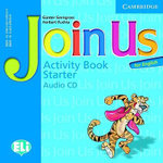 Join Us for English Starter Activity Book Audio CD - Herbert Puchta