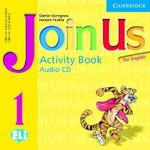 Join Us for English 1 Activity Book Audio CD - Herbert Puchta