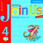Join Us for English 4 Songs Audio CD : Level 4 - Gunter Gerngross