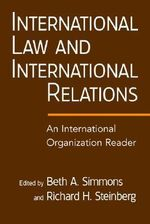 International Law and International Relations : 000323628