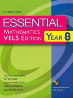 Essential Mathematics VELS Edition Year 8 Pack With Student Book, Student CD and Homework Book - David Robertson