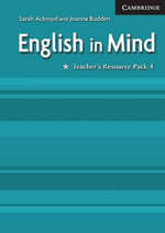 English in Mind 4 Teacher's Resource Pack - Sarah Ackroyd