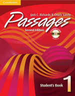 Passages Student's Book 1 with Audio CD/CD-ROM : An Upper-Level Multi-Skills Course - Jack C. Richards