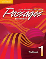 Passages Workbook 1 : An Upper-level Multi-skills Course - Jack C. Richards
