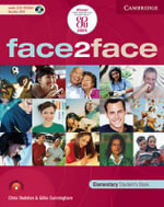 Face2face Elementary Student's Book with CD-ROM / Audio CD and Workbook Pack Italian Edition - Chris Redston