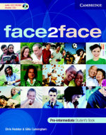 Face2face Pre-Intermediate Student's Book with CD-ROM / Audio CD and Workbook Pack Italian Edition - Chris Redston