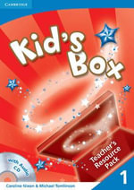 Kid's Box 1 Teacher's Resource Pack with Audio CD : Level 1 - Caroline Nixon