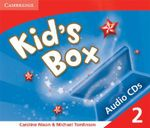 Kid's Box 2 Audio CDs : Level 2 - Caroline Nixon