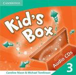 Kid's Box 3 Audio CDs (2) - Caroline Nixon