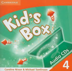 Kid's Box 4 Audio CDs (3) : Level 4 - Caroline Nixon