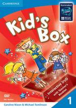 Kid's Box Level 1 DVD with Teacher's Booklet : Level 1 - Caroline Nixon