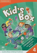 Kid's Box Level 4 Interactive DVD (PAL) with Teacher's Booklet : Level 4 - Caroline Nixon