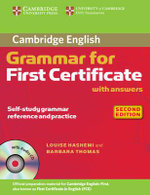 Cambridge Grammar for First Certificate With Answers and Audio CD : Cambridge Books for Cambridge Exams - Louise Hashemi