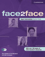 Face2face Upper Intermediate Teacher's Book : Face2face - Chris Redston