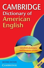 Cambridge Dictionary of American English Camb Dict American Eng 2ed