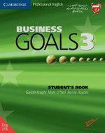 Business Goals 3 Student's Book Bahrain Edition : Level 3 - Gareth Knight