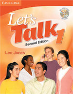 Let's Talk 1  : Second Edition - Expanded Self Study Audio - Leo Jones
