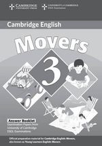 Cambridge Young Learners English Tests Movers 3 Answer Booklet: Level 3 : Examination Papers from the University of Cambridge ESOL Examinations - Cambridge ESOL