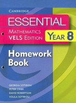 Essential Mathematics VELS Edition Year 8 Homework Book : VELS Edition - David Robertson