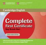 Complete First Certificate Class Audio CD Set - Guy Brook-Hart
