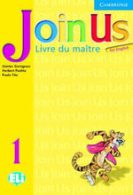 Join Us for English 1 Teacher's Book French Edition : Level 1 - Gunter Gerngross